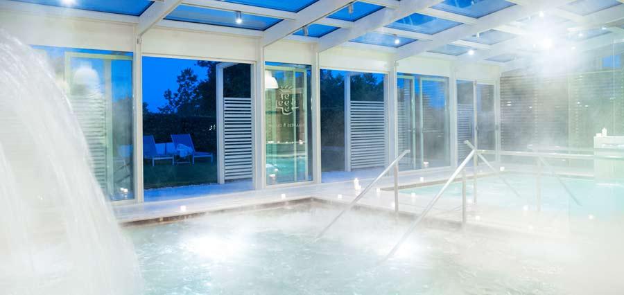 la piscina del centro termale di bagno vignoni